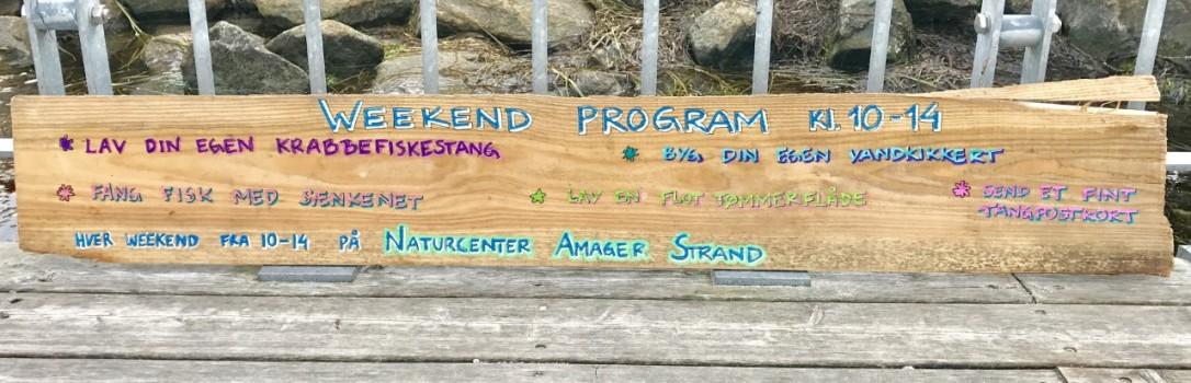 Weekendprogram august